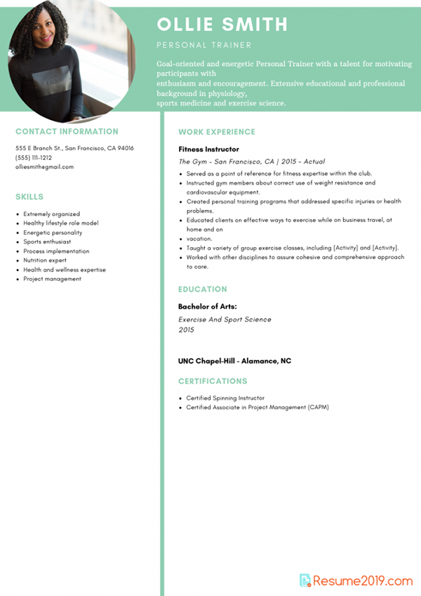 updated resume template 2019 on pantone canvas gallery