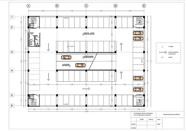 car parking building plan on Behance  car parking bui...