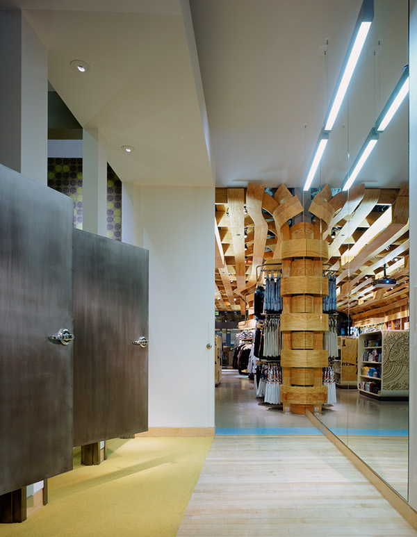 Quiksilver Young Men's Interior Store Design by Clive Wilkinson  a18ad5fe265dde0423bc8ae5cd1207f5