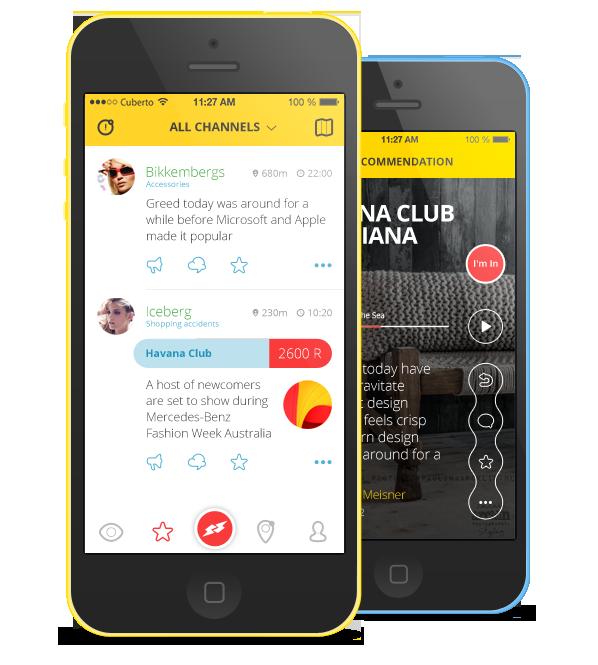 UI ux ios iphone app cuberto Icon graphics design motion