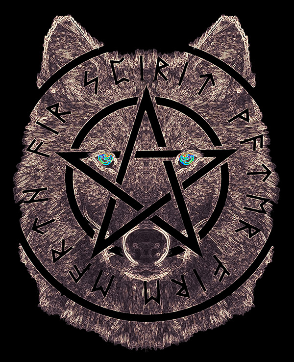 kurt, wolf, wicca