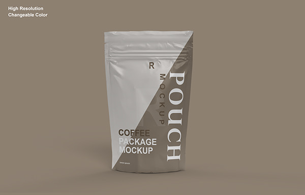 Pouch Packaging Mockup Collection