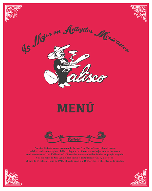 Restaurante Jalisco On Behance