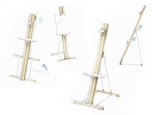 Easels On Behance