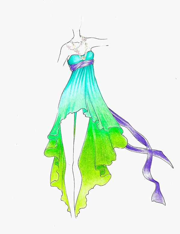 Disney Inspired Fashion Sketches on Behance