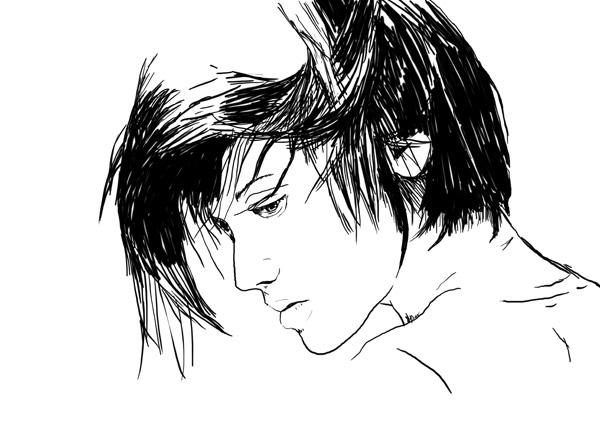 black White line art mumolabs
