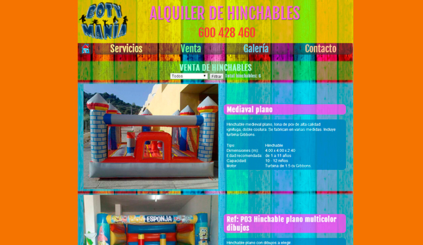web animation inflatables