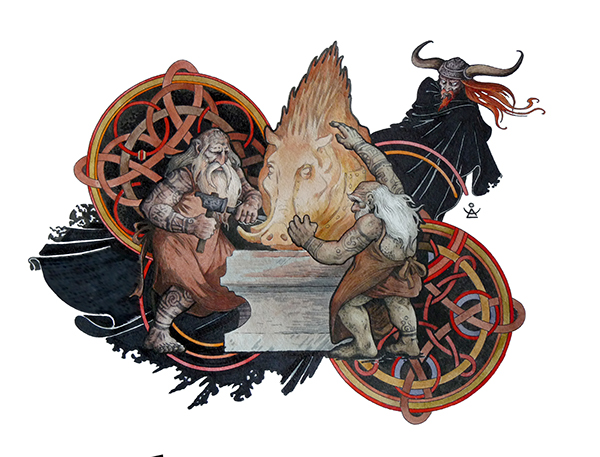 norse teutonic or scandinavian mythology essay Norse mythology comprises the pre-christian beliefs and legends of the scandinavian peoples including those who settled on iceland where most of the written sources for norse mythology were assembled many of these sources however are said to be tainted by the christian bias of the writers.
