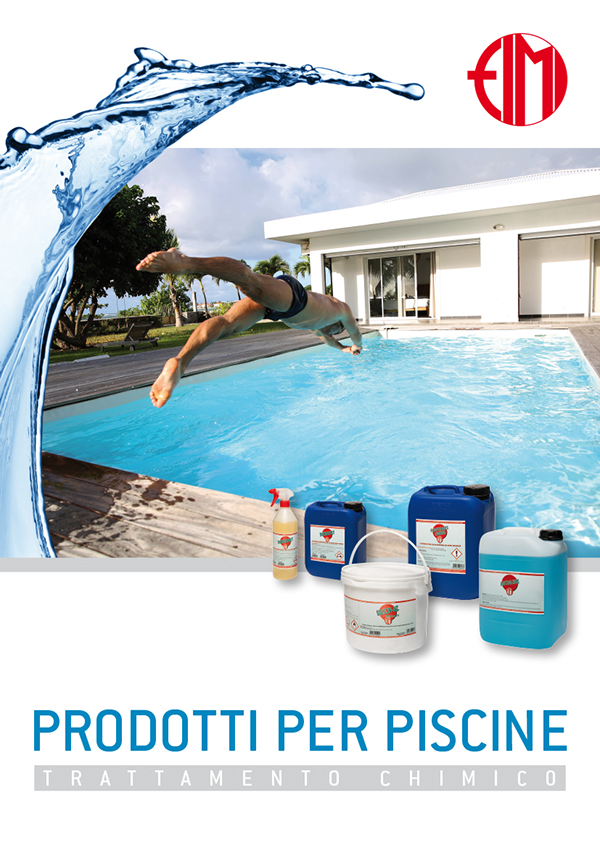 brochure fimi prodotti per piscine on behance