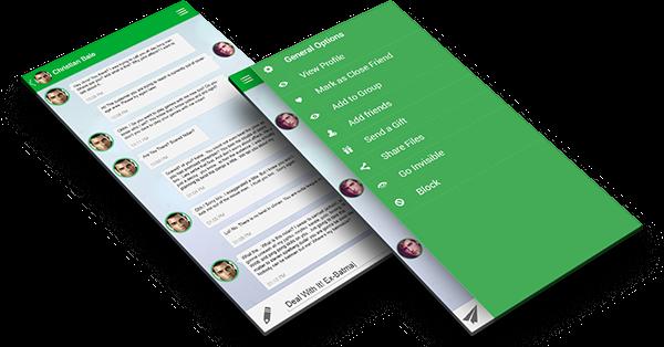 Whatsapp redesign concept on behance stopboris Choice Image