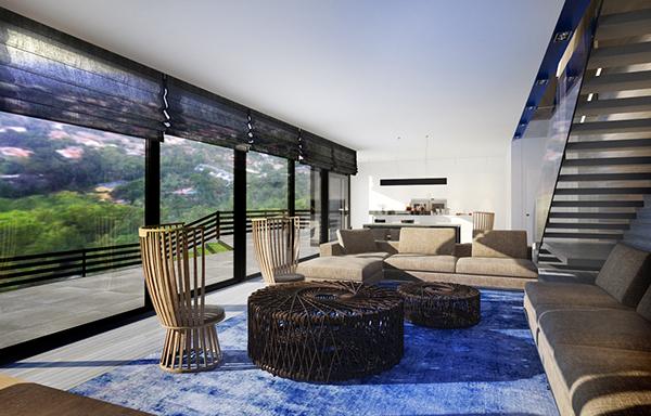 Casa di maare loft interior on behance