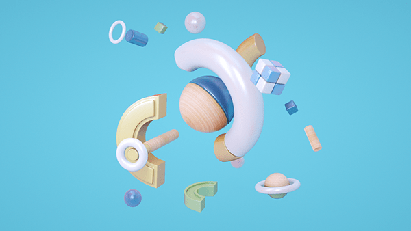 3D Shapes animation