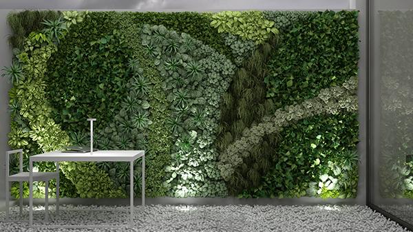 3d Model Vertical Gardening On Student Show