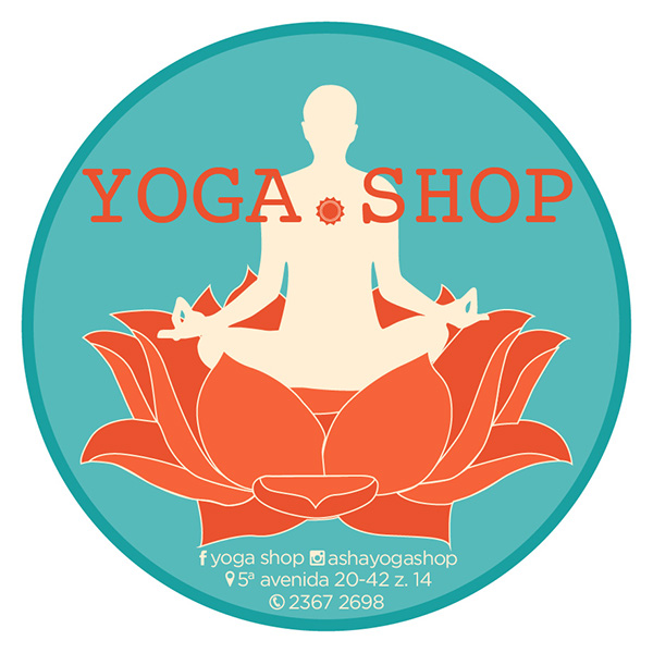 Logo Yoga Shop On Behance