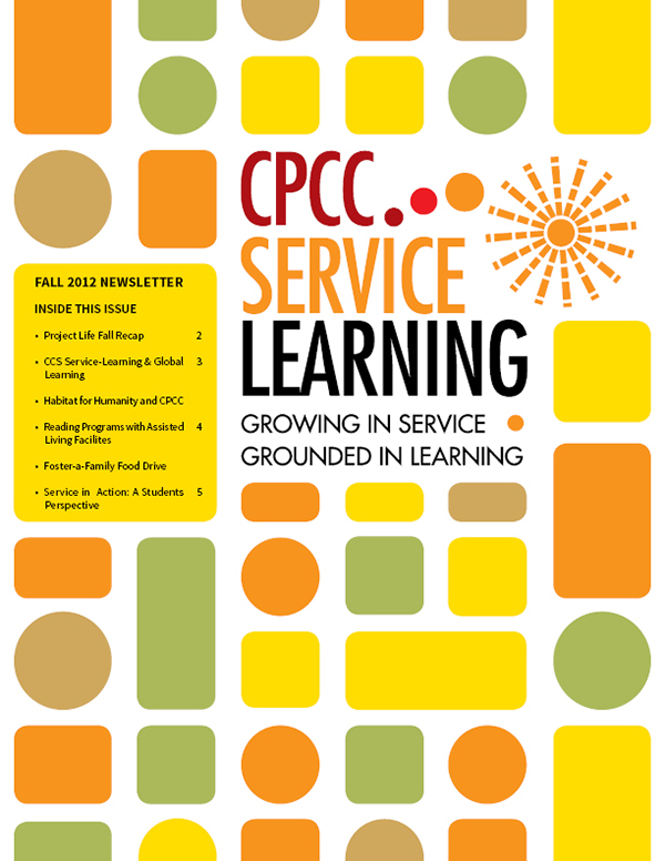 Cpcc Service Learning Newsletter On Student Show