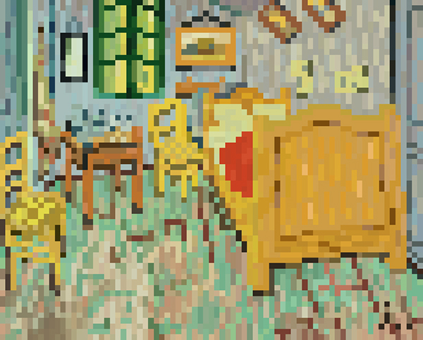 pixel art the compilation of masterpiece series 2 on behance. Black Bedroom Furniture Sets. Home Design Ideas