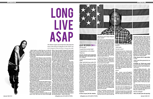 Rolling Stone Layout on Behance