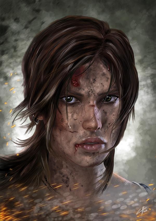 Lara Croft by Chris Ham