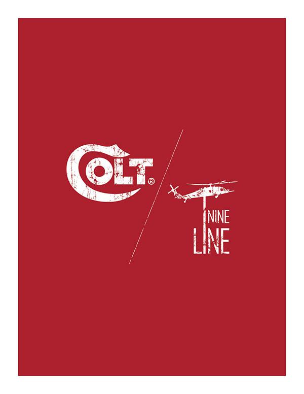 Colt Firearms- Nine Line Apparel clothing line  on SCAD Portfolios