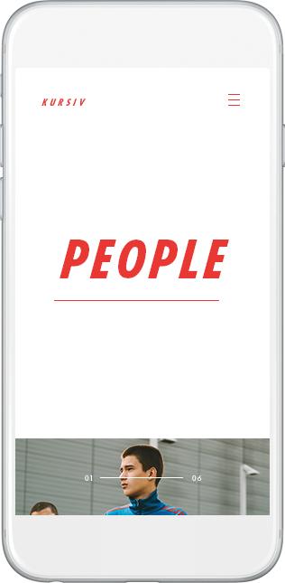 motion gif UI ux typography