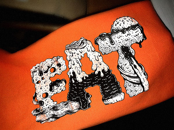 silkscreen serigrafia gatotonto spain burger meal Food  comida Alimentos jorge tabanera