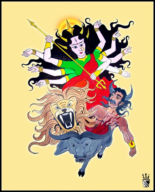 Durga Puja Souvenir On Behance