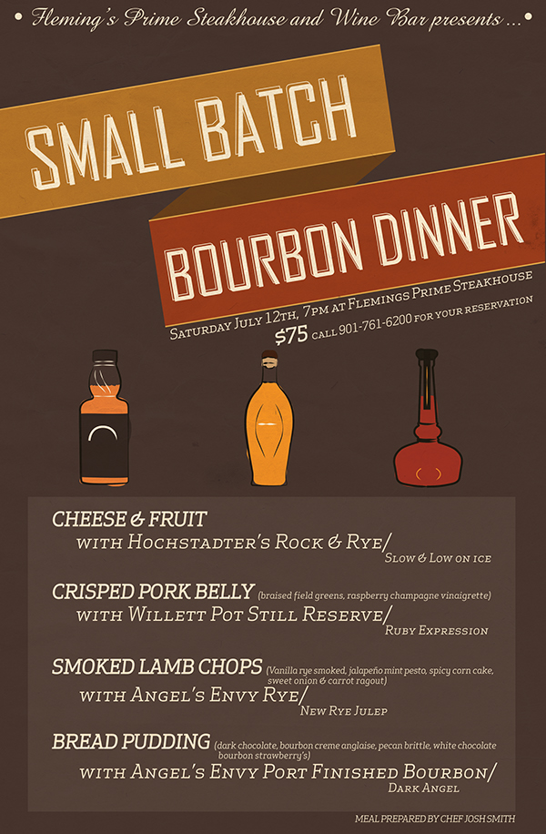 Mock Up Menu Flyer For A Private Dinner On Behance