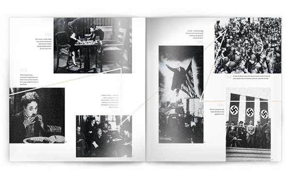 temp magazine TCC Universidade Positivo projeto visual print editorial dowicz