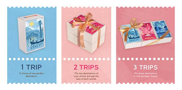 The Cookie Trip - Cookies Packaging & Branding
