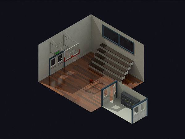 30 Isometric Renders In 30 Days Round 1 On Behance