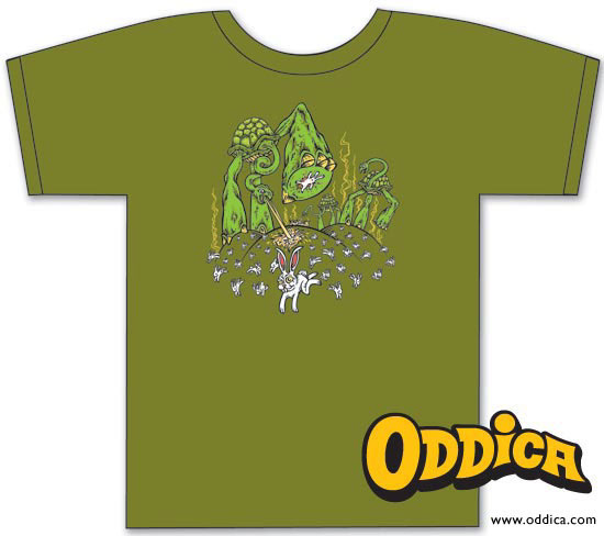 Run rabbit run oddica t shirt on behance for T shirt printing chandler az