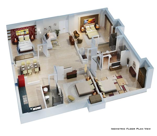 Building Plans 3d Views The Image Kid