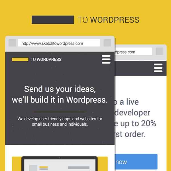 Sketch To WordPress