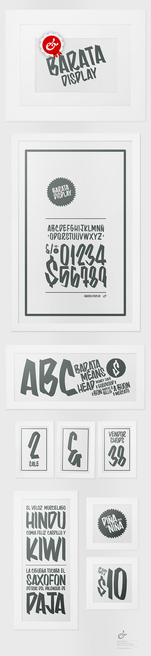 Free font  typography arellano mexico type lettering