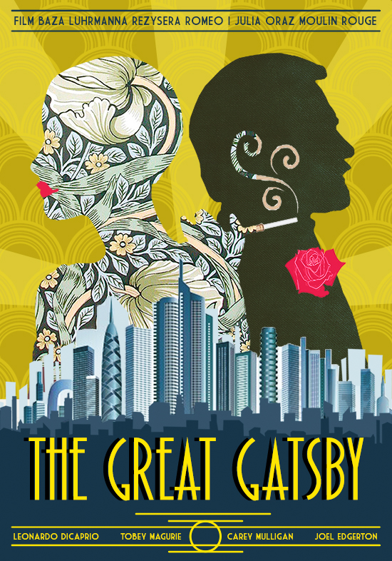 The Great Gatsby Poster On Behance
