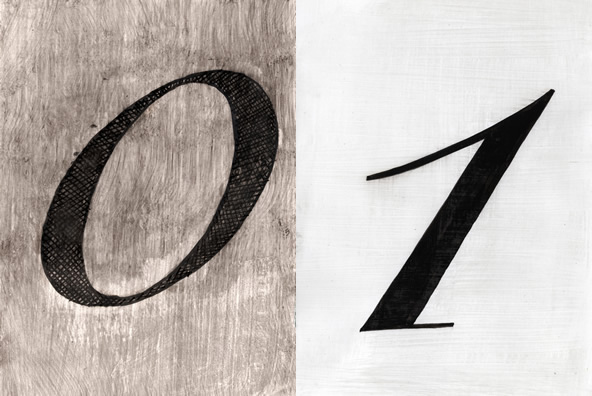 10 Cursive Numbers on Typography Served