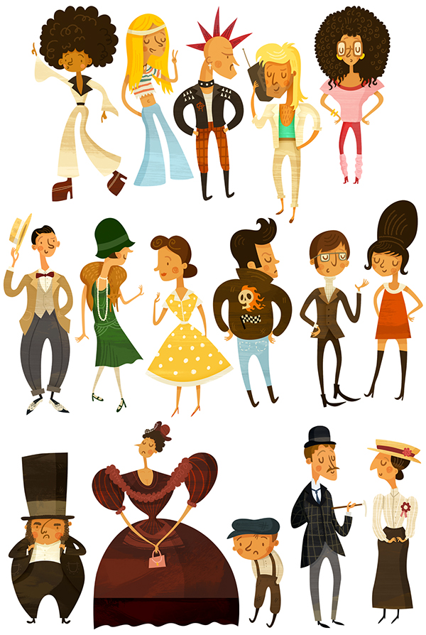 Character Design Job London : Historical characters on behance