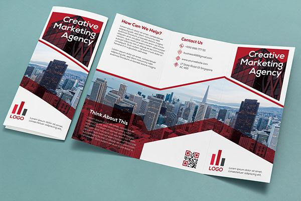 Corporate Trifold Brochure Design.