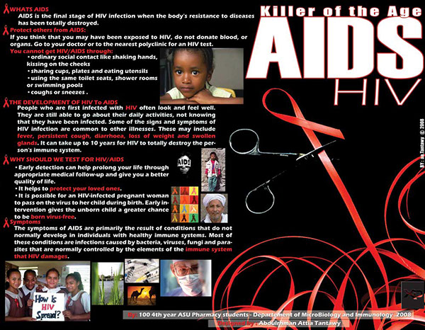 Aids Poster Ideas Aids Poster The Age Killer