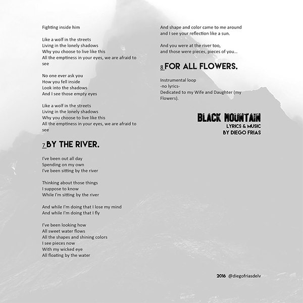 BLACK MOUNTAIN EP by ME on Pantone Canvas Gallery