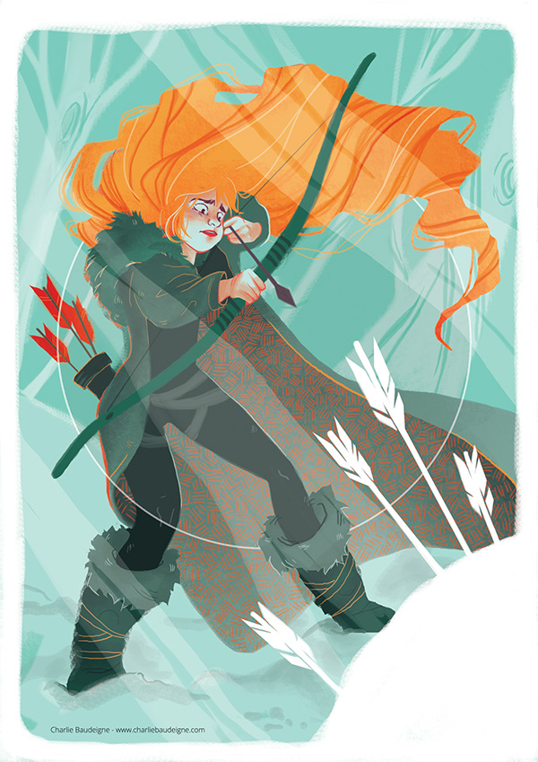 Ygritte - Game of thrones fanart