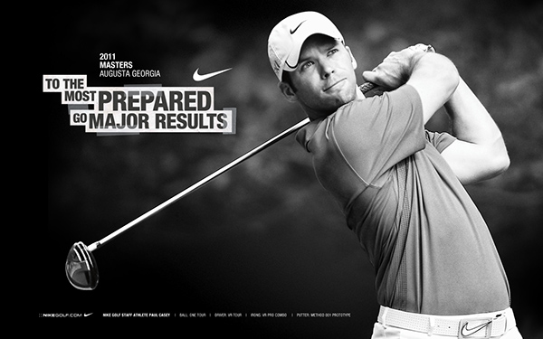 Nike Golf 2011 Masters Posters On Behance