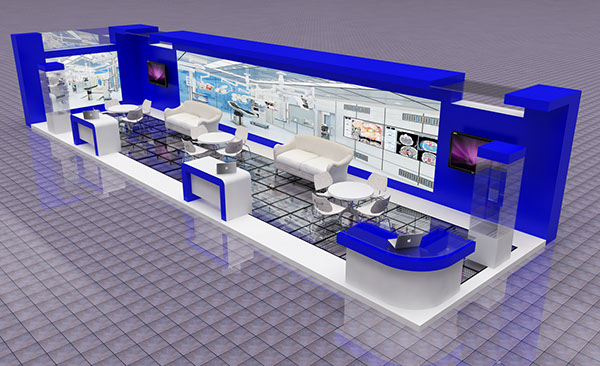 Exhibition Stand Sketchup : Exhibition stand design concept on behance