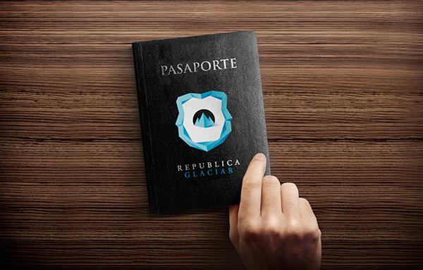 passaporto republica glaciar