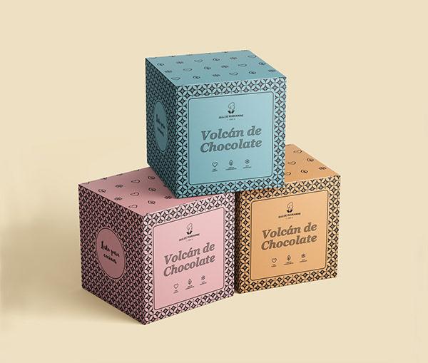 Dulce Marianne - Diseño de packaging postre