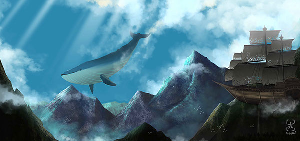 Whale SKY fantasy