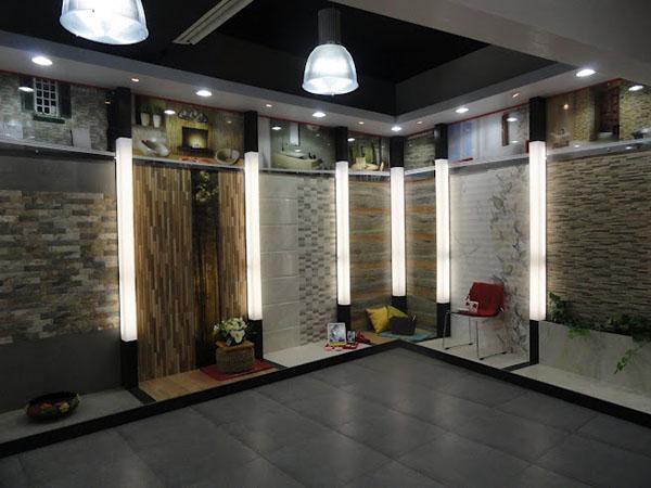 Showroom mockups on behance - Interior design tiles showroom ...