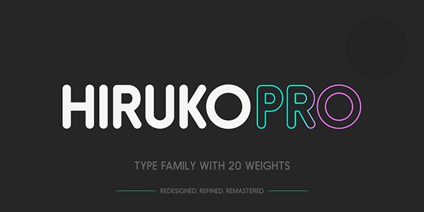 Hiruko pro free on behance
