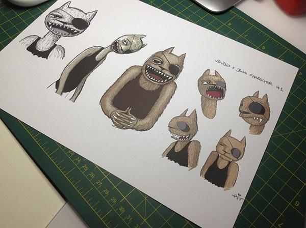 jena orlok comics strip jazz