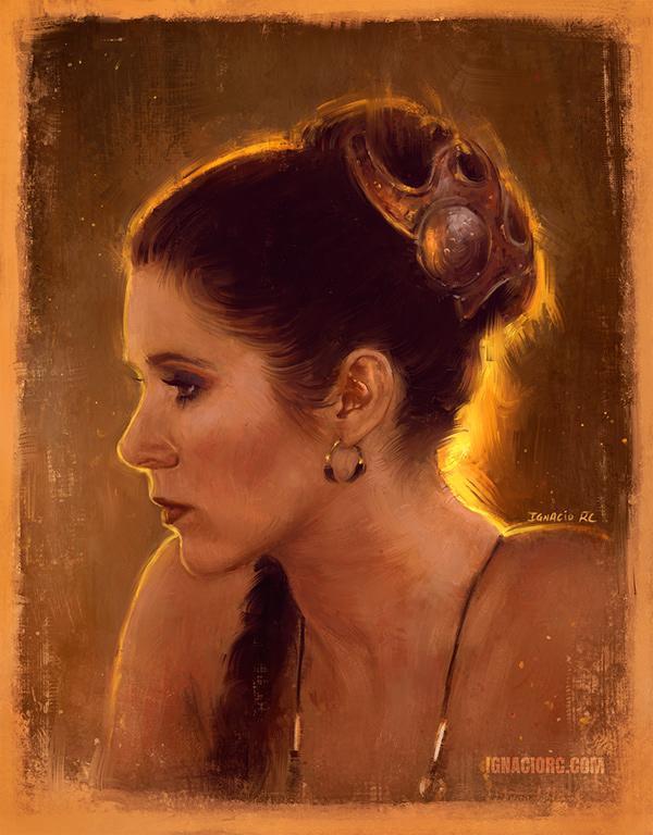 Leia & Rey Star Wars